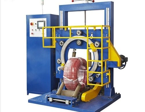 塑料管缠绕包装机——风鼎机械