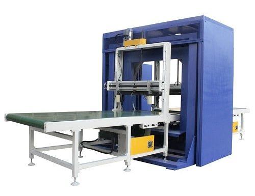 Automatic horizontal winding wrapping machine