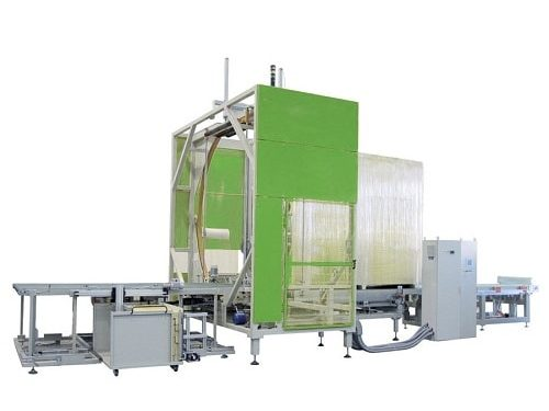 Non standard large horizontal winding wrapping machine