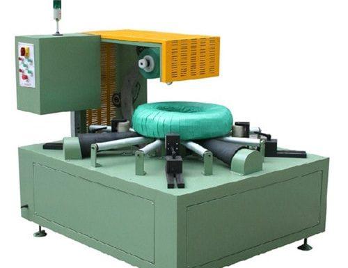 Horizontal ring body wrapping machine